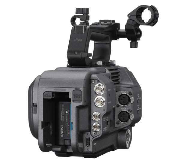 Nouvelle caméra Sony FX9 - arrière du boîtier (source : Sony)