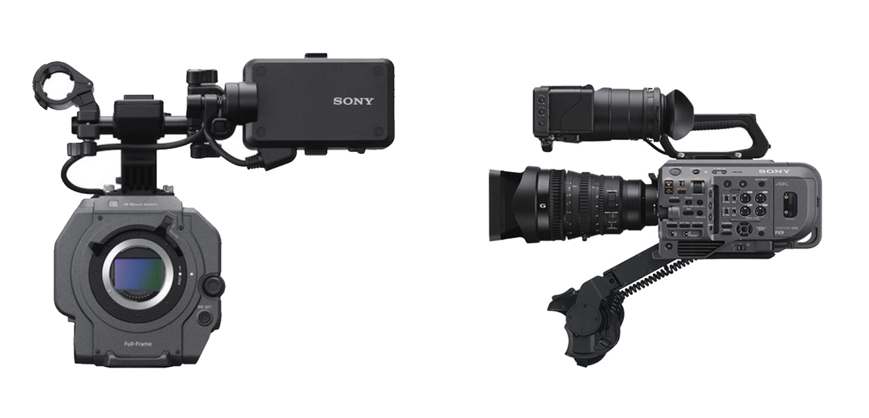 Nouvelle caméra Sony FX9 (source : Sony)