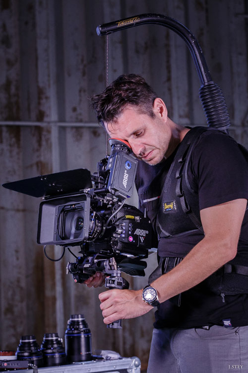 Visual Sequence - Eric Goron - tournage du clip Roebo de Monsieur Grandin