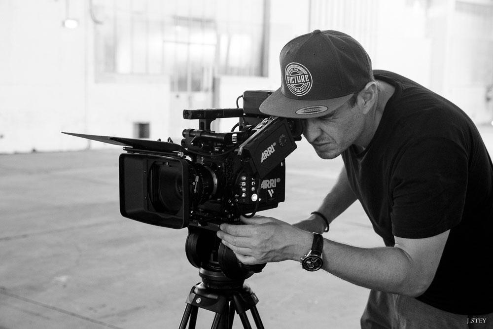 Cameraman - Eric Goron de Visual Sequence avec la caméra Arri Alexa mini LF. Photo J.Stey