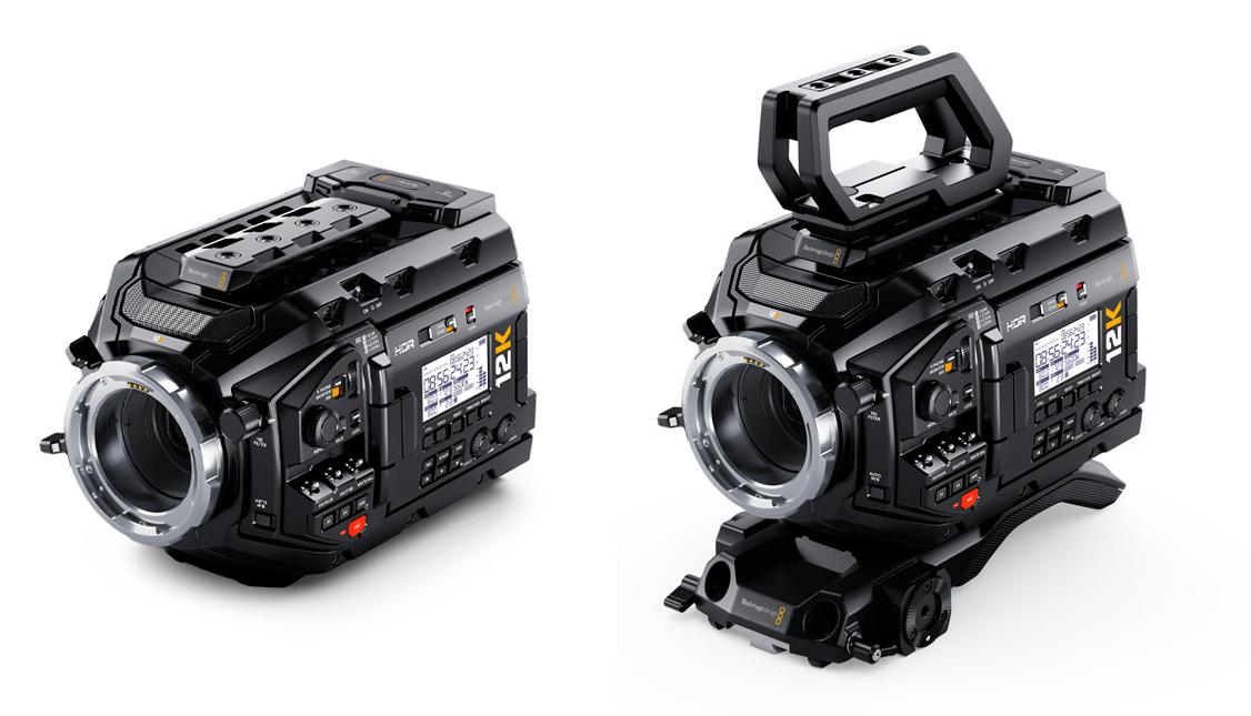 Blackmagic URSA Mini Pro 12K - kit épaulière