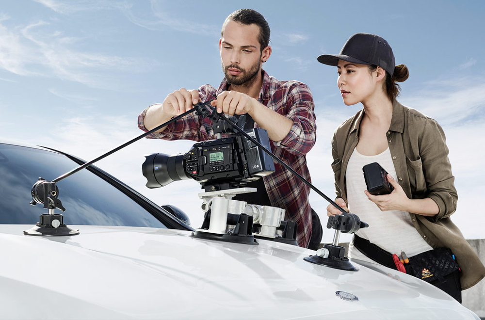 Blackmagic URSA Mini Pro 12K - création des spots publicitaires