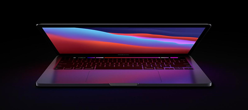 Location d'un Macbook Pro 16'' (Source : Apple)