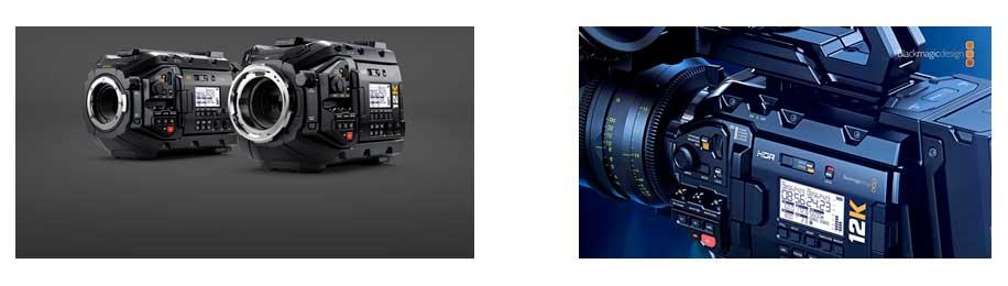 Location de la caméra URSA Mini Pro 12K (source : Blackmagic)